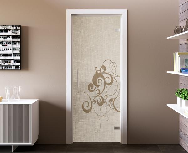 Porte in vetro mr art design produttore di porte in vetro - Porte d interni design ...