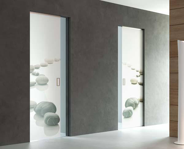 Porte in vetro mr art design produttore di porte in vetro porte scorrevoli porte in cristallo - Porte scorrevoli in vetro a scomparsa ...