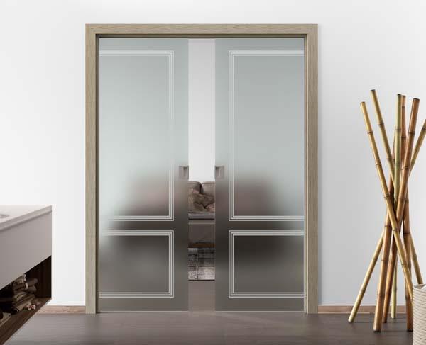 Porte in vetro mr art design produttore di porte in vetro - Porte a scomparsa ...